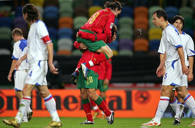 13 октября 2004 года. Португалия — Россия — 7:1