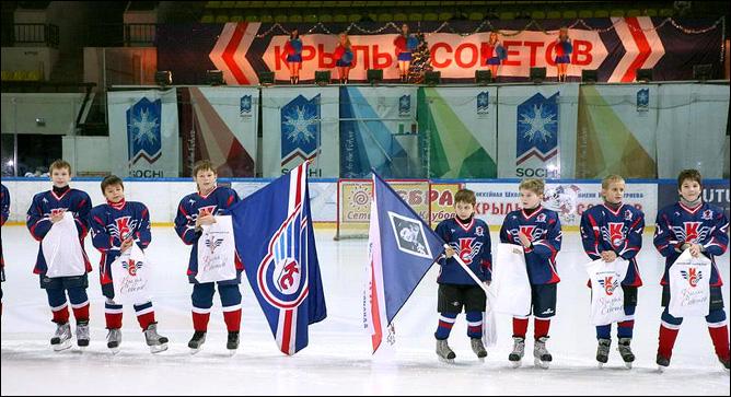 """И сегодня, несмотря ни на что, детская школа """"Крыльев"""" продолжает выпускать будущих чемпионов"""