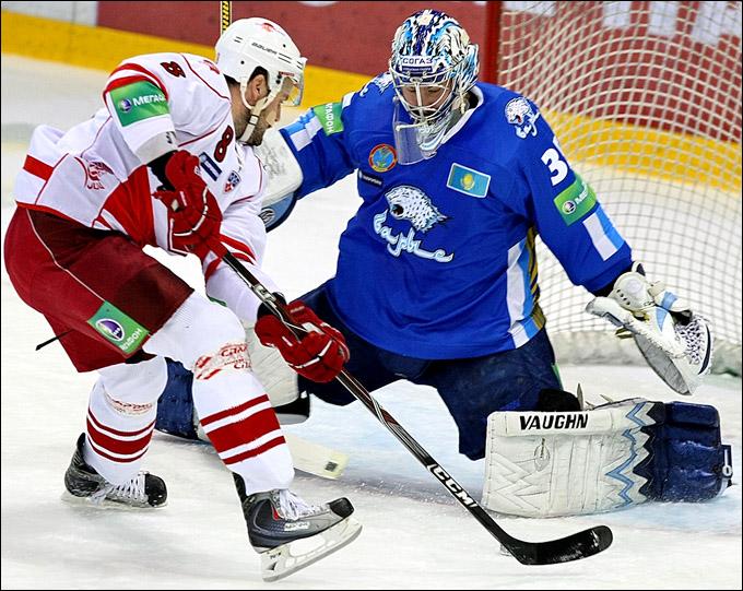 Превью: БАРЫС vs СПАРТАК чемпионат КХЛ 2011-2012 (Видео)