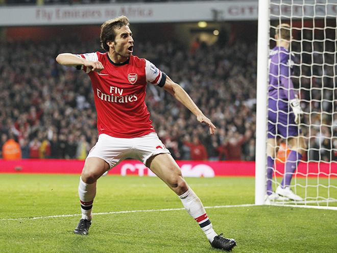 Игрок «Арсенала» Матьё Фламини