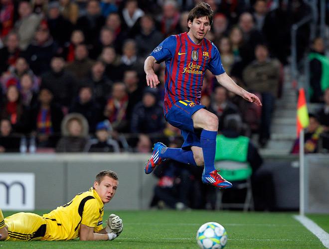 Лео Месси (2012, «Барселона» – «Байер» – 7:1)