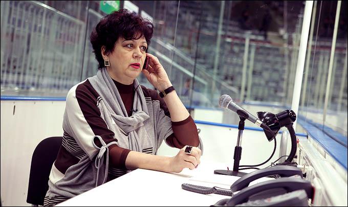 Надежда Демичева – голос хоккейного Омска - Чемпионат