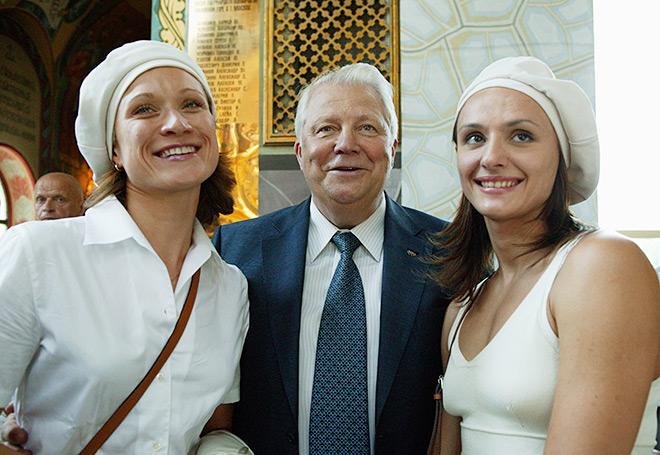 С Марией Киселёвой и Ольгой Брусникиной