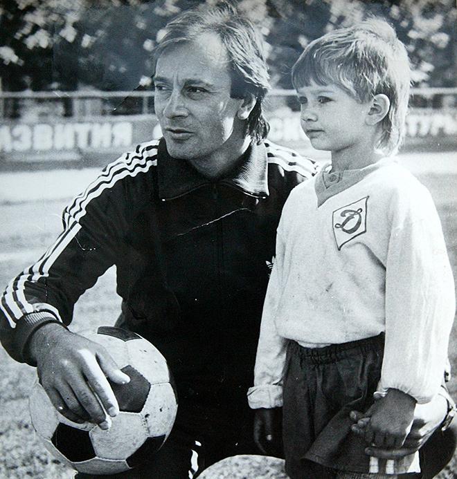 Дмитрий Сычёв с отцом