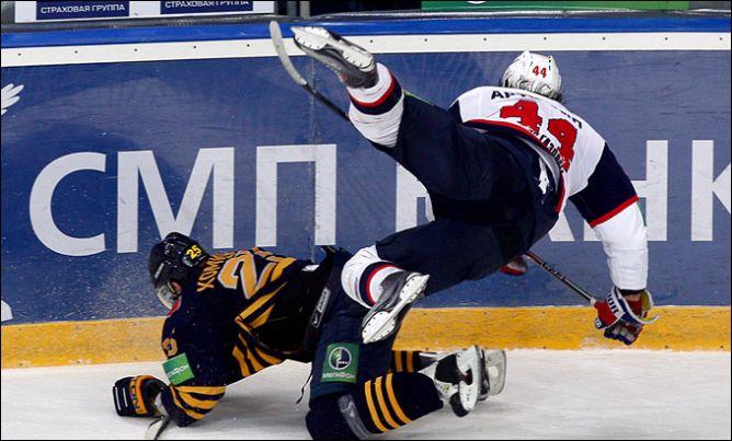"""18 марта 2011 года. Мытищи. Плей-офф КХЛ. 1/4 финала. """"Атлант"""" — СКА — 2:1."""