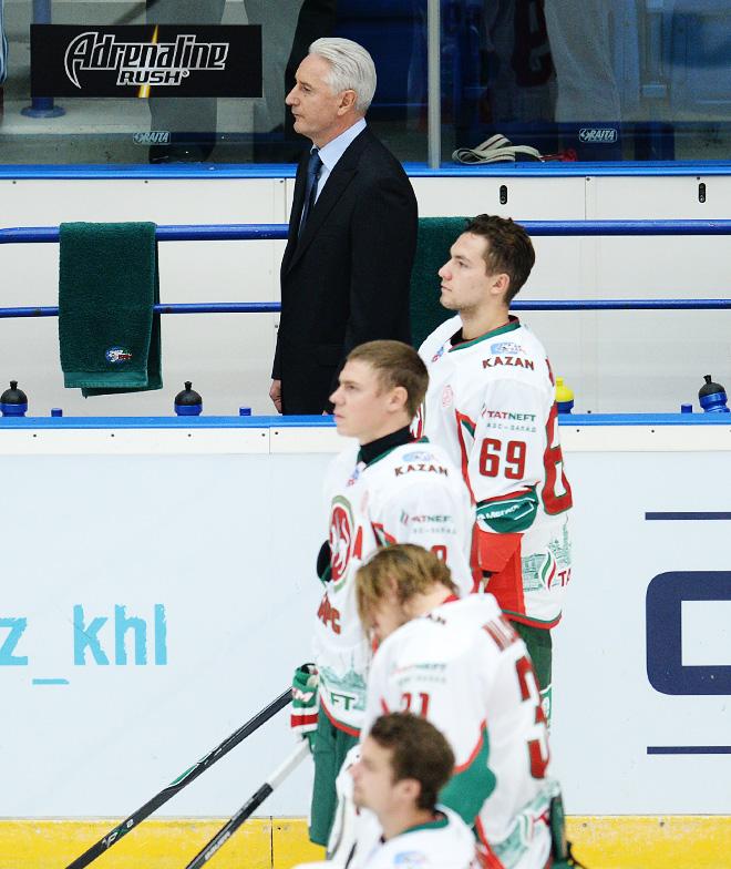 Александр Бурмистров перед матчем