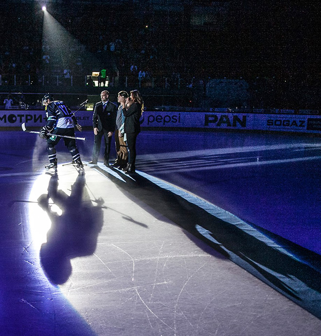 Церемония открытия в Загребе