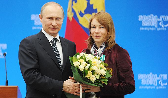 Владимир Путин и Инга Медведева