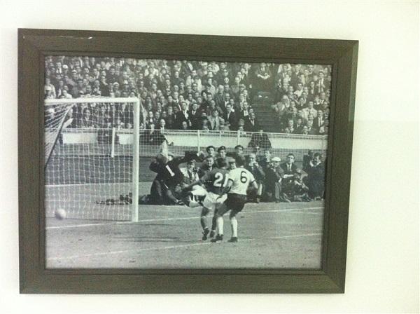 Историческое фото на стадионе им. Тофика Бахрамова