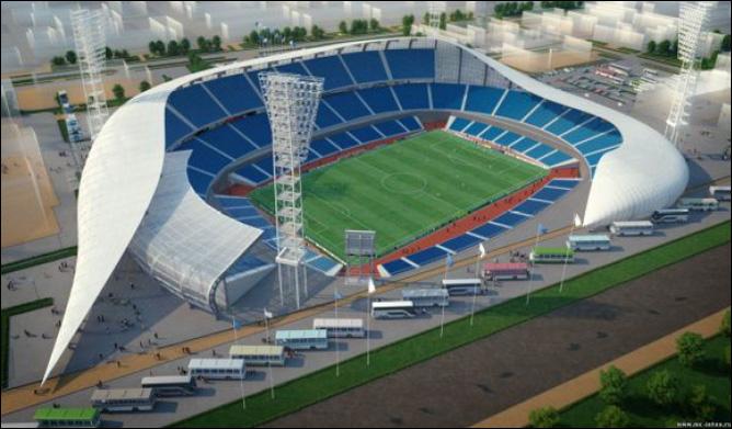Стадион Ярославль