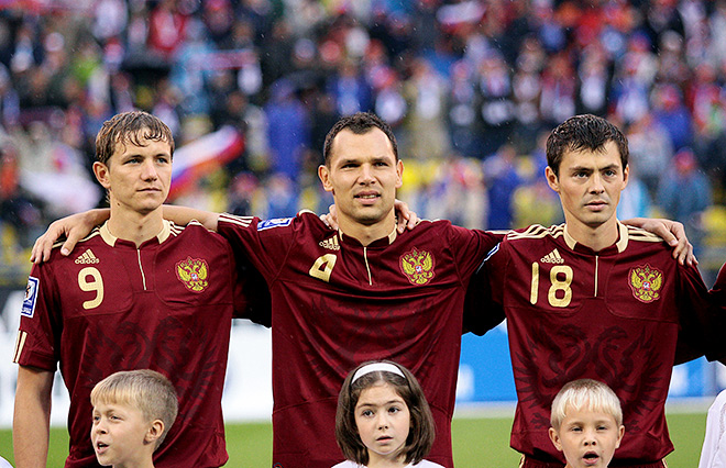 Форма сборной России в 2009 году