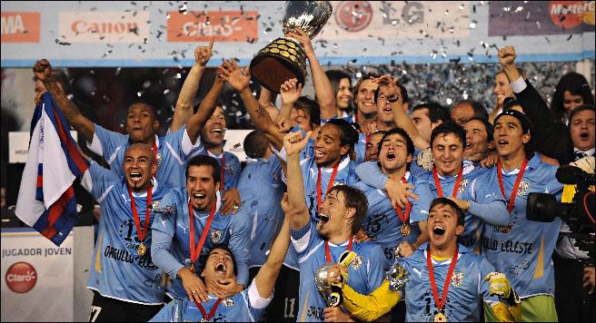 Сборная Уругвая — триумфатор Кубка Америки!
