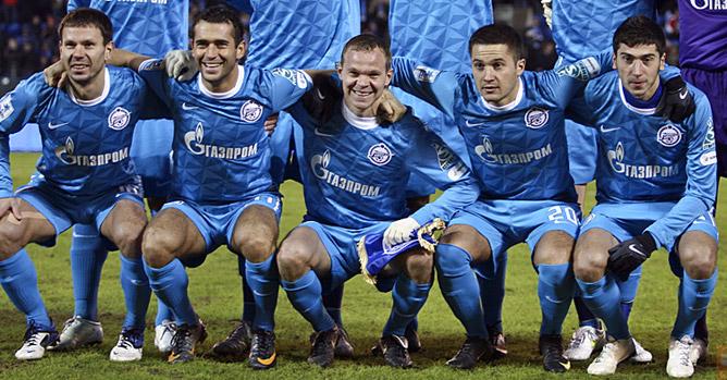 Константин Зырянов, Александр Кержаков, Александр Анюков, Виктор Файзулин и Алексей Ионов.