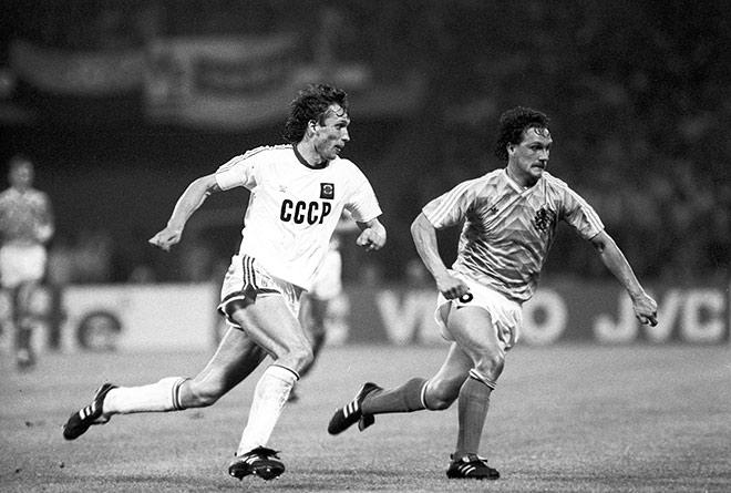 На Евро-1988 советская сборная дошла до финала