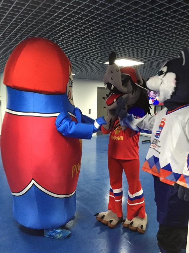 Талисманы сборной России