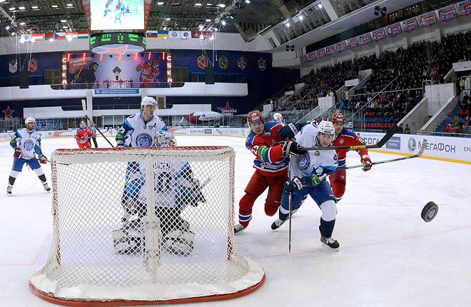 ЦСКА против минского «Динамо»