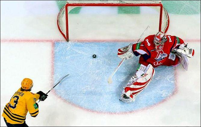 Последняя гостевая игра в регулярном чемпионате для «Локомотива» обернулась поражением.