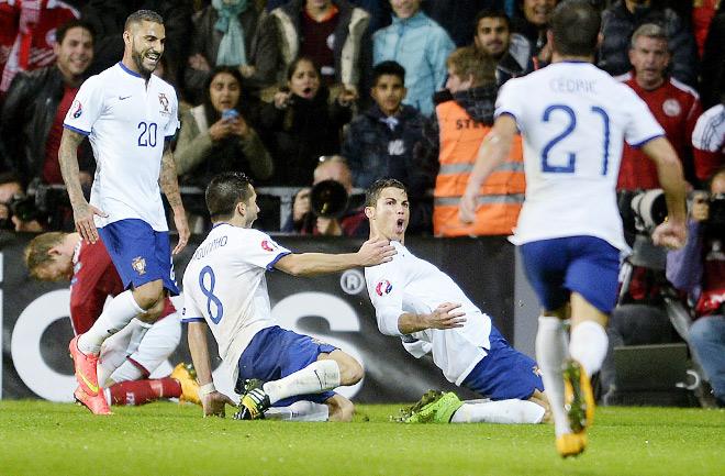 14.10.2014. Дания – Португалия (отборочный матч Евро 2016)