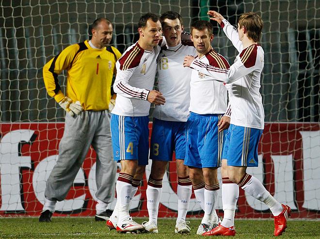 Форма сборной России в 2010 году