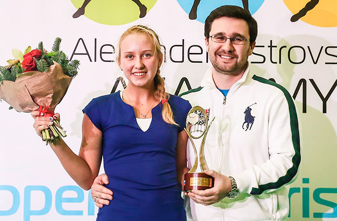 Анастасия Потапова и Александр Островский