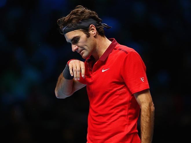 Спазм спины не позволил Федереру сыграть с Джоковичем