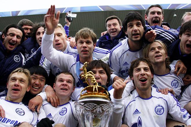 2007 год. Первое российское чемпионство «Зенита»