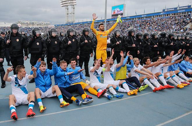 «Зенит» — действующий чемпион России