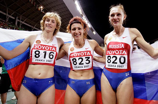 Людмила Колчанова, Татьяна Лебедева и Татьяна Котова просто не подпустили к себе соперниц и втроём поднялись на пьедестал почёта