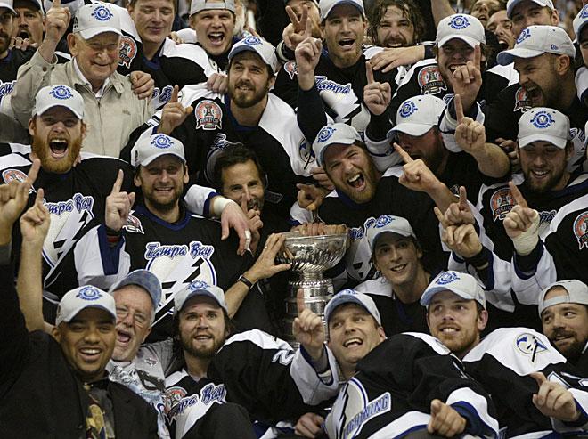 «Тампа-Бэй Лайьнинг» — обладатель Кубка Стэнли-2004