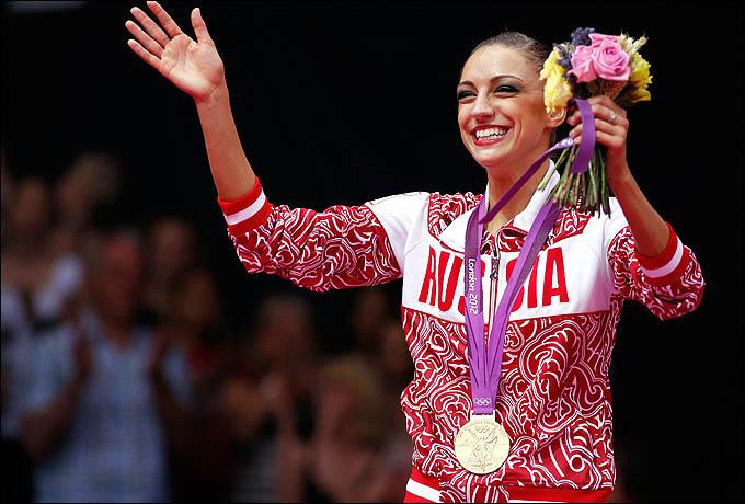 Евгения Канаева. Двукратная олимпийская чемпионка!
