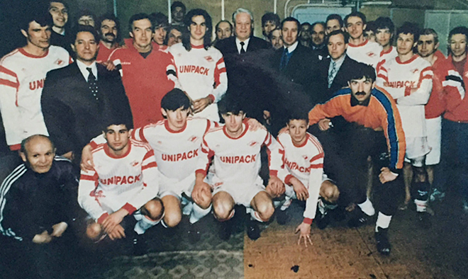 «Спартак» начала 1990-х