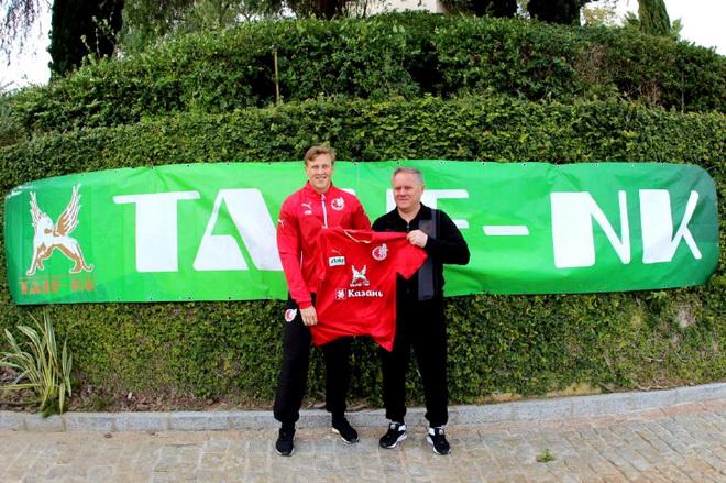 «Рубин» объявил о подписании контракта c Бергстрёмом