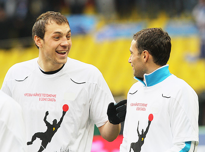 Артём Дзюба и Роман Широков