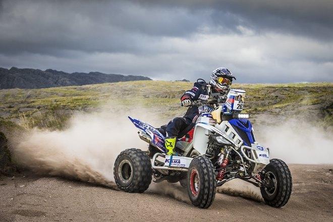 Сергей Карякин за рулём Yamaha Raptor