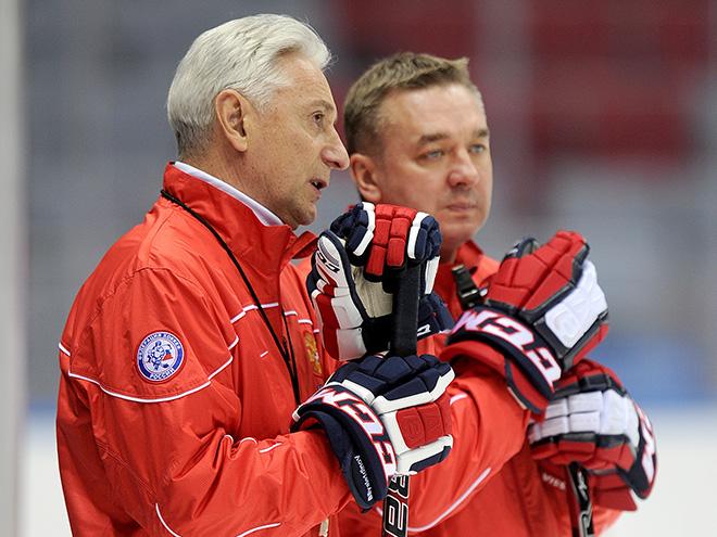 Зинэтула Билялетдинов и Валерий Белов