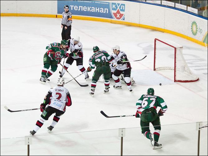 23.11.2010. КХЛ. Ак Барс - Трактор - 2:3 ОТ. Фото 03.