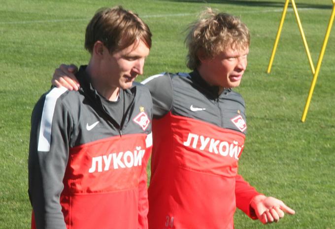 Ким Чельстрем и Евгений Макеев