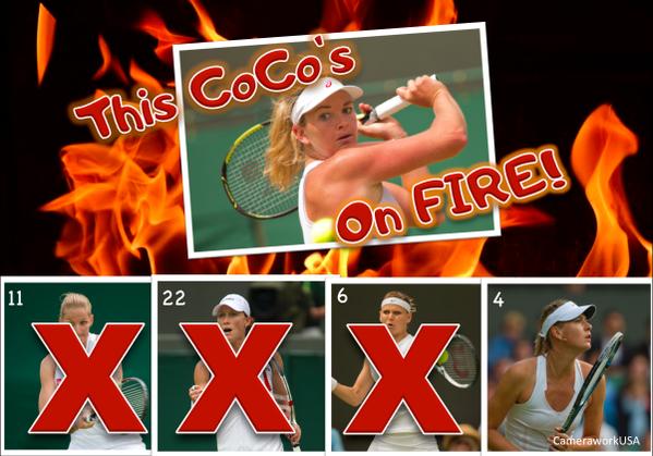 Коко Вандевеге обыграла уже трёх сеяных теннисисток. Сумеет ли она победить Марию Шарапову?