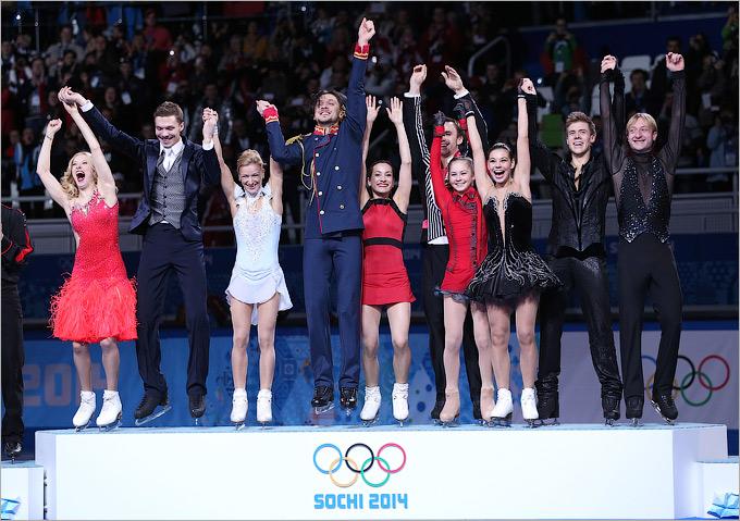 Российская команда — лучшая в фигурном катании!