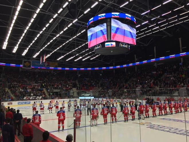 Гимны России и Чехии