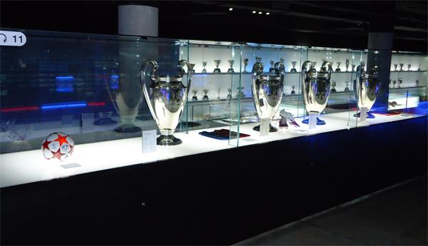 Трофеи всех времён и народов, когда-либо завоёванные сине-гранатовыми