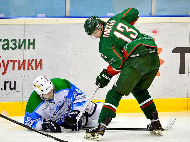 Казанец Артём Михеев стал последним героем завершившегося регулярного чемпионата ВХЛ