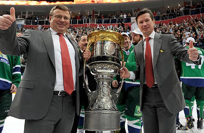 Быков и Захаркин — обладатели Кубка Гагарина с «Салаватом Юлаевым»