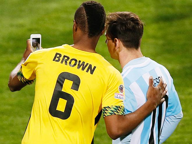 После матча Аргентина — Ямайка