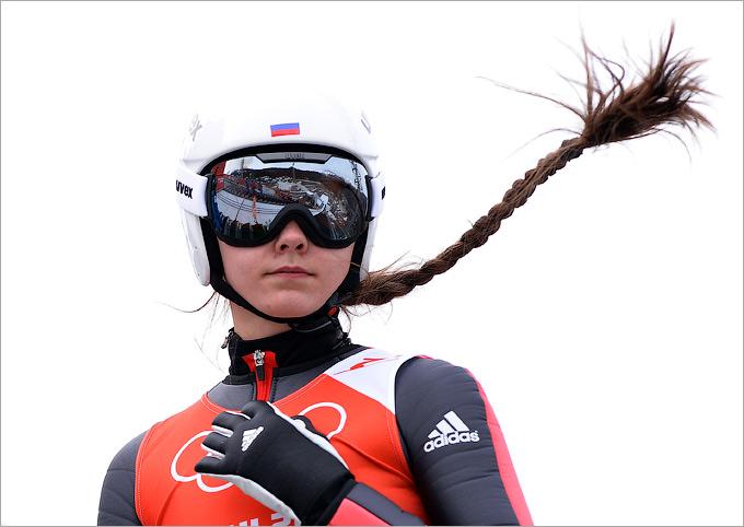 Великолепная коса Ирины Аввакумовой — ещё один повод последить за женскими прыжками с трамплина