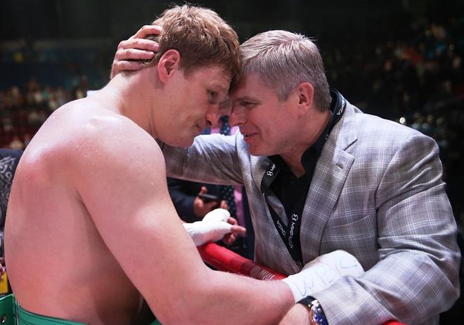 Александр Поветкин и Андрей Рябинский