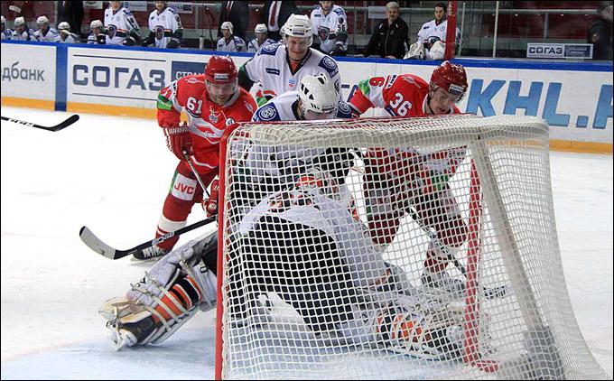 Превью: СПАРТАК vs ЛЕВ чемпионат КХЛ 2011-2012 (Видео)