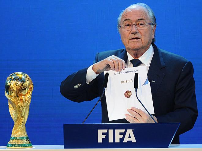 Чемпионат мира по футболу 2018 года пройдёт в России!