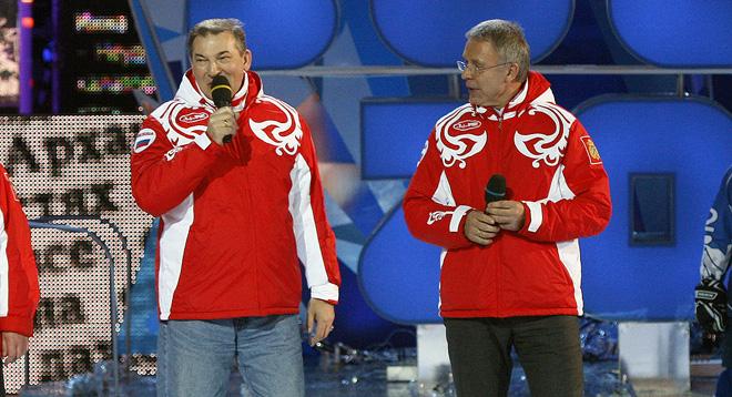 Владислав Третьяк и Вячеслав Фетисов
