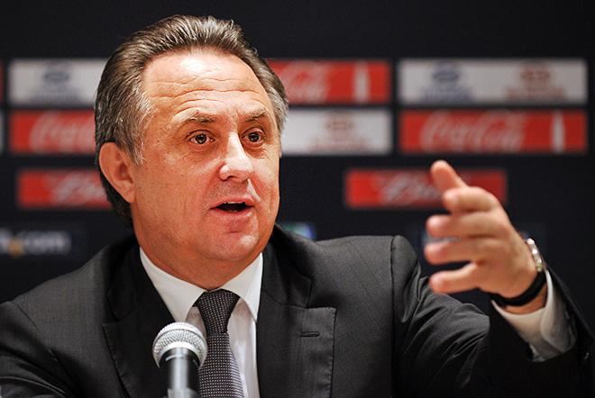 Министра спорта РФ Виталий Мутко